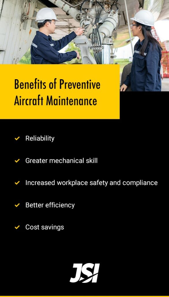 Benefits of Preventive Aircraft Maintenance
