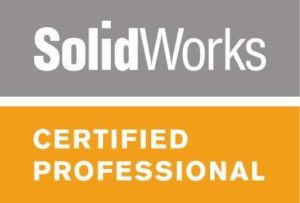 Certified Solidworks Professional Logo