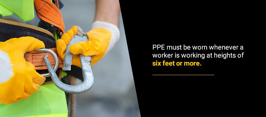 When Is Fall Protection PPE Necessary?