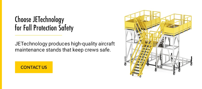 Choose JETechnology Solutions for Fall Protection Safety